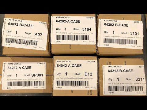 Let's Open 6 Auto World Cases.... Thanks To Diecastrum