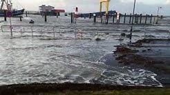 Hochwasser Nordstrand 15.12.2019