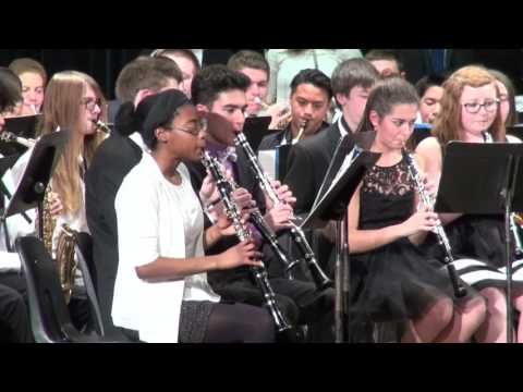 Stoughton High Combined Bands: Sleigh Ride (2016)