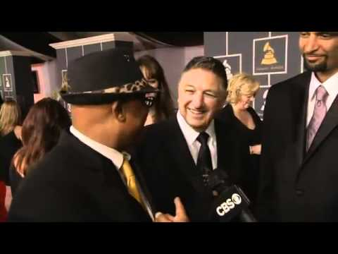 Ski Johnson Interview With Cbs At The 54th Grammy Awards Youtube