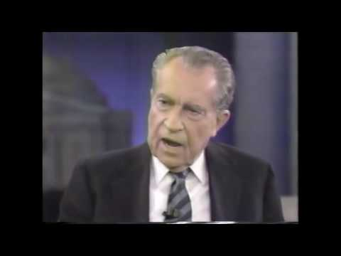 Jan 1992 Frm Pres Richard Nixon on Nightline