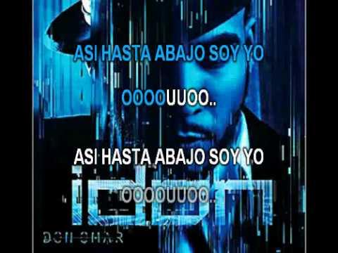 Don Omar - Hasta Abajo (karaoke)