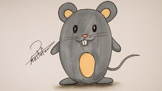 Drawing for Kids - How To Draw A Mouse - How To Draw For Kids