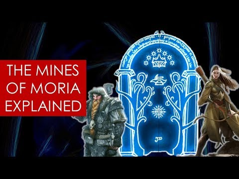 The Doors Of Moria: EXPLAINED [ Lord Of The Rings L Fellowship L Tolkien ]