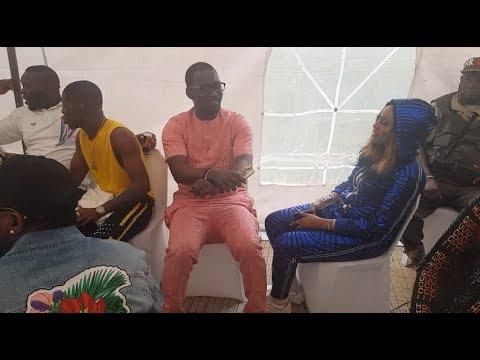 See Pasuma Dancing Shaku Shaku As Small doctor,Slimcase Storms In At Agege Mega youth concert