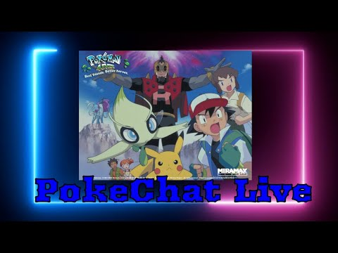 Pokechat Live Lets Wtach Pokemon 4ever Youtube
