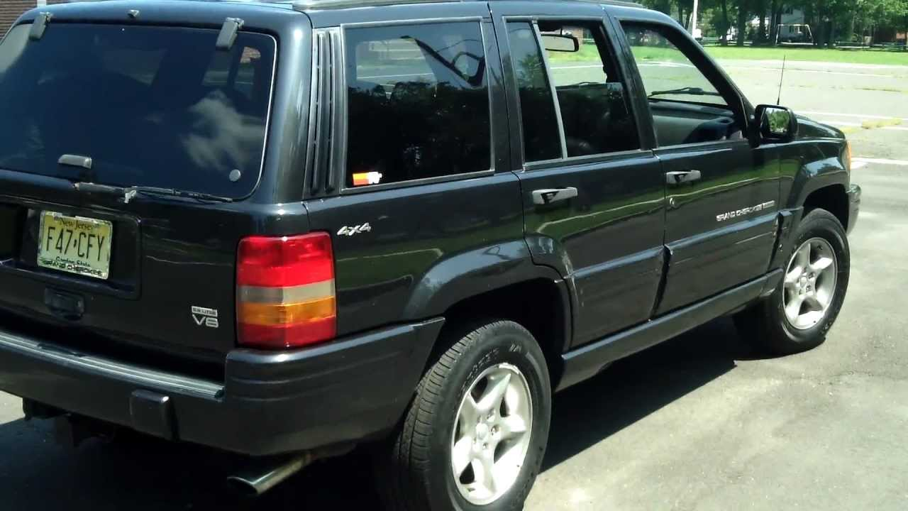 Beautiful NEW JEEP 1998 Grand Cherokee 5.9 Limited   YouTube