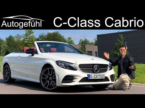 Mercedes C-Class Cabriolet Facelift FULL REVIEW C400 CClass Convertible C-Klasse 2019 - Autogefühl