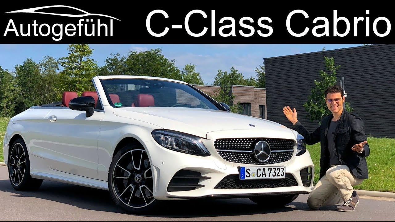 Mercedes C Cl Cabriolet Facelift Full Review C400 Ccl Convertible Kle 2019 Autogefühl