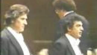 Placido Domingo & Sherrill Milnes in a duet from Gioconda