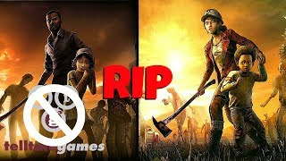 RIP TELLTALE GAMES ): The Walking Dead:Final Season Episodes 3-4 Rumored to be Canceled?!