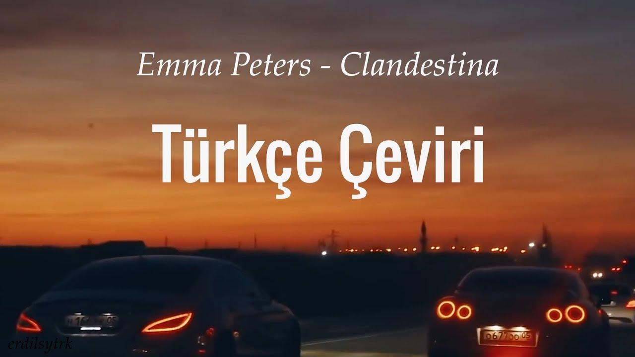 Emma Peters - Clandestina (Kokaina Kokaina) Türkçe Çeviri