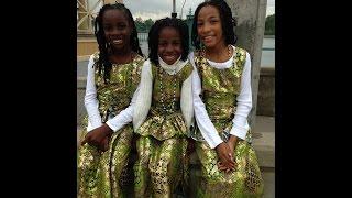 "The Sonja Shule Afrikan Dancers - ""Funga Alafia"""