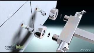 Sanitairtotaal: Hoe monteer je een thermostaatkraan van Varono