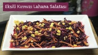 Ekşili Kırmızı Lahana Salatası - Naciye Kesici - Yemek Tarifleri