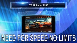Need for Speed Payback | NEED FOR SPEED No Limits Android iOS | Gameplay  | McLaren 720S  2