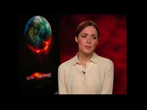 Rose Byrne interview for Knowing in HD