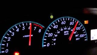 Toyota Yaris Top Speed Run