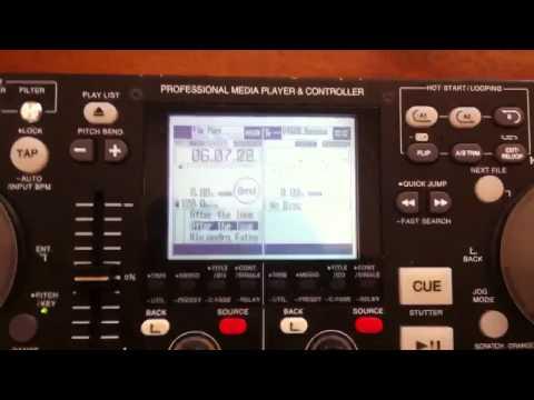 Denon DN HD2500 demo español a la venta en Chile