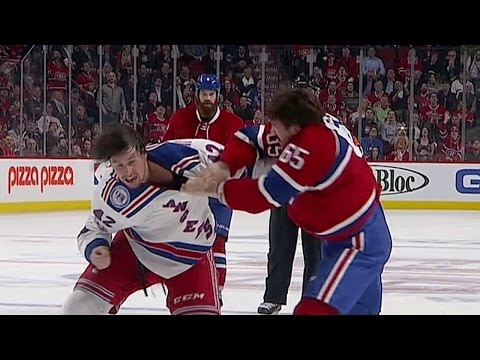Shaw & Smith exchange fists after scrum in front of the net