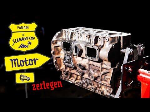Land Rover Defender Motor Komplett Zerlegen   300 Tdi   S4 • E2
