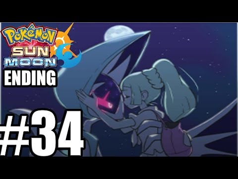 Pokemon Sun and Moon ENDING Final Boss  - Gameplay Walkthrough Part 34 [ 3DS ]