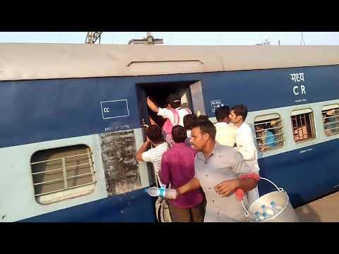 Pune to Mumbai local train fight at LONAVALA station.
