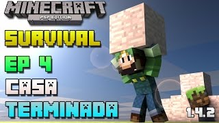 Minecraft PSP | Survival | Episodio 4 | Casa terminada | Loquendo | HD | luigi2498