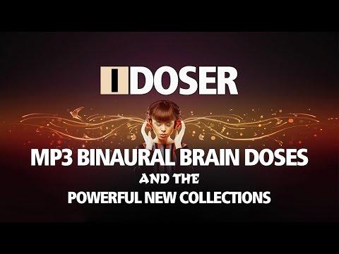 iDoser MP3 Binaural Brain Doses