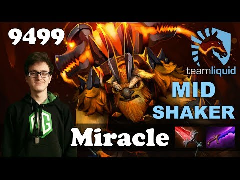 Miracle Mid Shaker vs LFY | 9499 MMR Dota 2