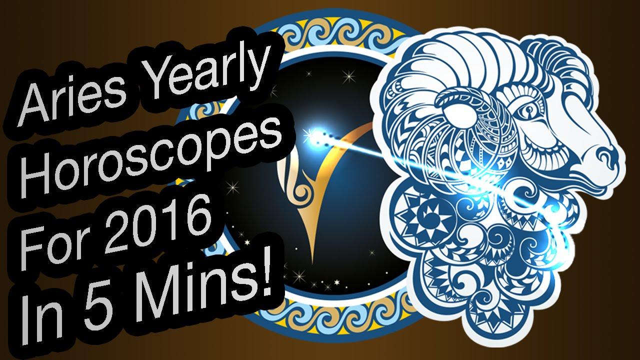 ed589019e Aries Yearly Horoscope For 2016 In Hindi | Prakash Astrologer - YouTube