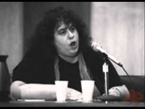 Andrea Dworkin's Testimony to the Attorney General On Pornography 1 of 4