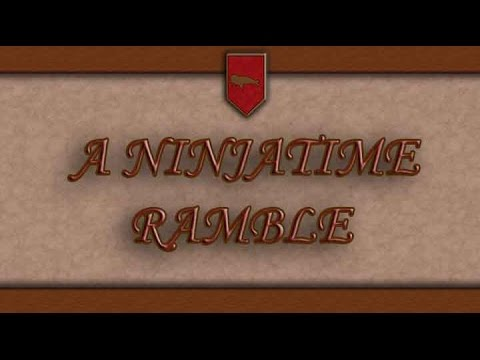 A Ninjatime Ramble | Absurdly Epic Poetry