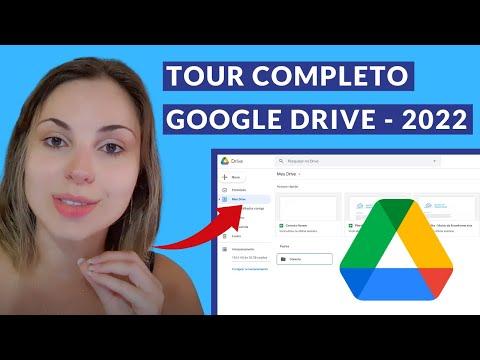Tour pelo Google Drive - Como criar pastas, arquivos e compartilhar
