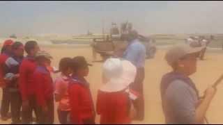 طابور الكشافة فى قناة السويس الجديدة وهتافات تحيا مصر يونيو2015
