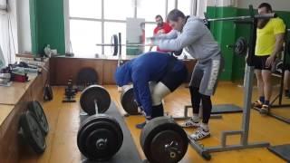 Родэ Денис становая тяга 280 кг на 3, б/э