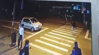 Accident Bacau - pieton spulberat pe trecerea de pietoni