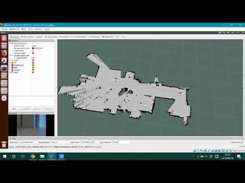 Hector slam test(ROS + YDLIDAR X4 + Raspberry pi 3 B+)