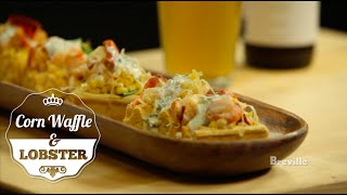 Breville Presents: Beer Drinker Food Thinker With Jeremy Sewall - Corn Waffle Recipe