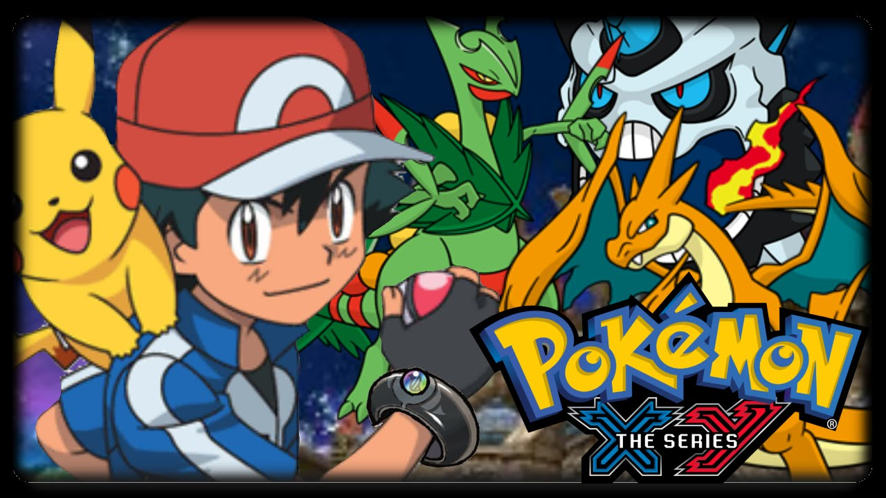Pokemon xy anime discussion w kgprestige ash using mega - Pokemon xy mega evolution ...