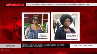Mrs Nerriah Mashamba comments on President Mnangagwa