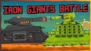 """Clash of Iron Giants"" Cartoons about tanks"