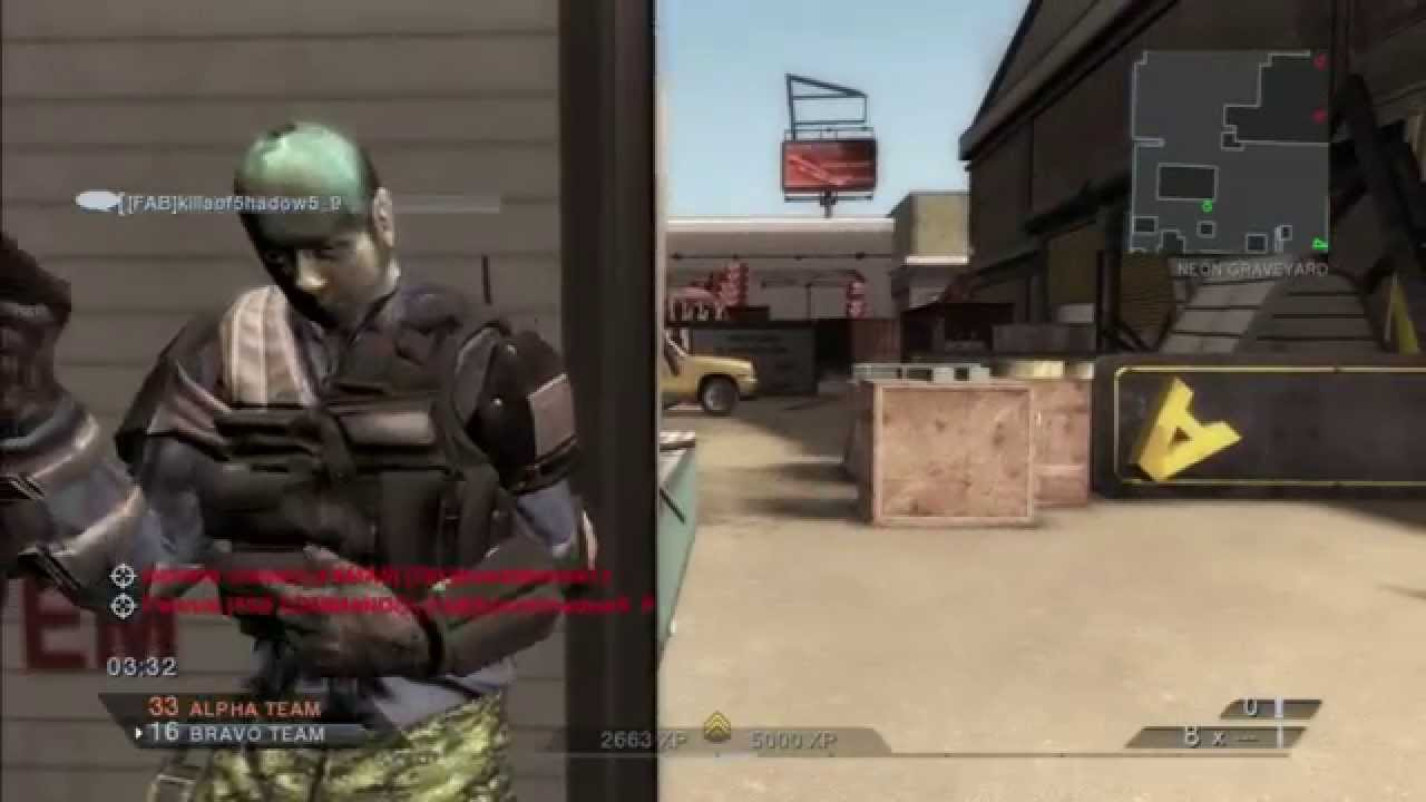 Rainbow Six Vegas 2 Multiplayer W Epic Face Scan
