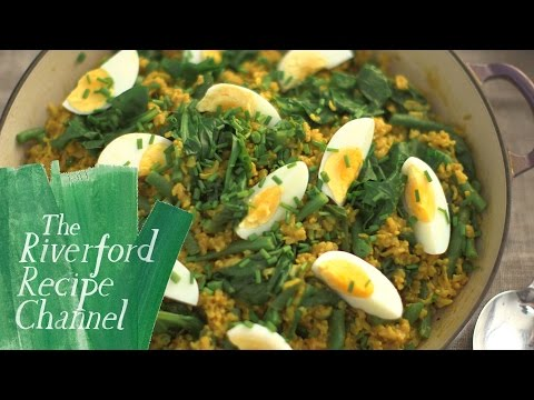 Spinach Kedgeree recipe