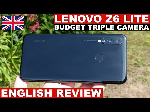 Lenovo Z6 Lite Review: Triple Camera from 150€ (English)