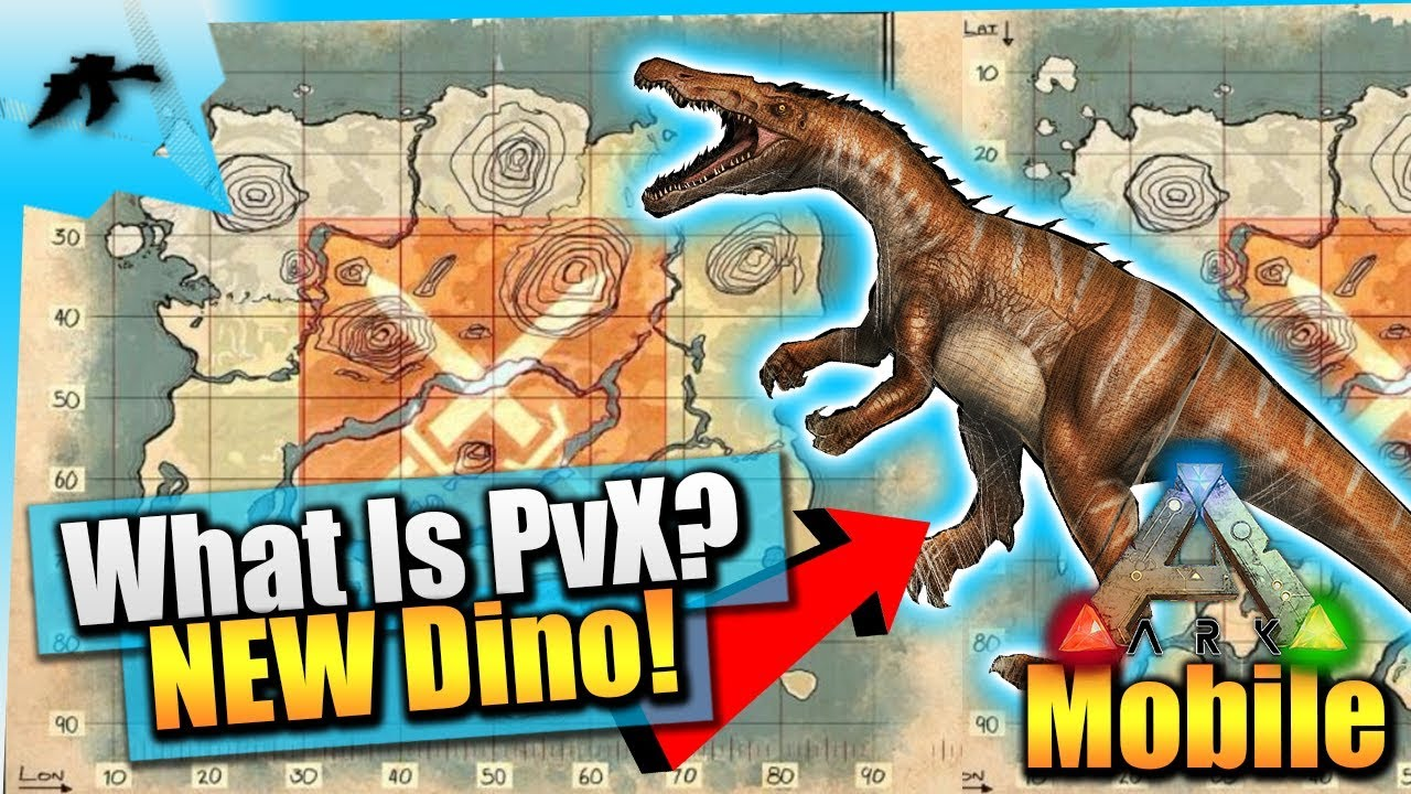 Ark Survival Evolved Mobile Huge Update| What Is PvX Server? | New Dino  Incoming/ Items(Collar)
