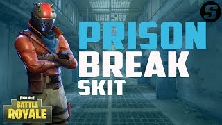 Prison Break In Fortnite Battle Royale [Skit]