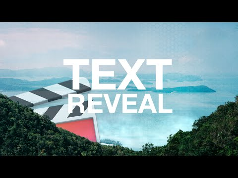 How To Reveal Text - Final Cut Pro X
