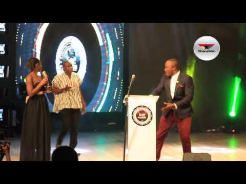 DKB, Counselor Lutterodt crack ribs at Ghana Music Honours 2017