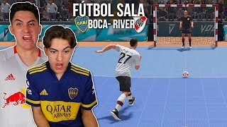 ¡FÚTBOL SALA BRUTAL! Boca vs River ¿Quien ganará?